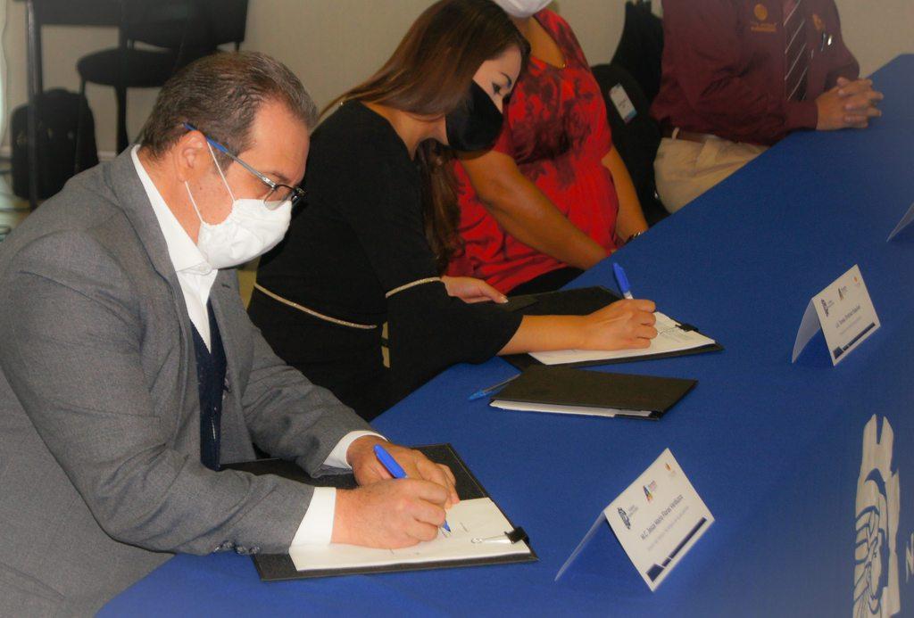 FIRMA DE CONVENIO EN MATERIA DE EDUCACIÓN AMBIENTAL ENTRE EL H. AYUNTAMIENTO CONSTITUCIONAL DEL MUNICIPIO DE AGUASCALIENTES Y EL TECNOLÓGICO NACIONAL DE MÉXICO-INSTITUTO TECNOLÓGICO DE AGUASCALIENTES